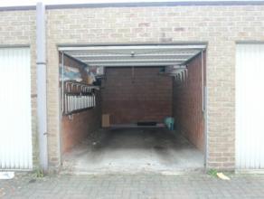 Gunstig gelegen garagebox (14m²)