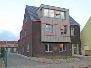 Ruim nieuwbouw appartement met 3 slaapkamers, terras van 21 m² en achtergelegen garagebox. Mogelijkheid om extra garage bij te huren. Energiezuin