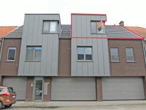 Nieuwbouw dakappartement met 1 slaapkamer, inpandige garage en terras (zuid) van 19 m² gelegen in het centrum van Hoevenen. Zeer energiezuinig! B