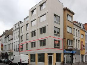 Leuk modern nieuwbouwappartement met 1 ruime slaapkamer. Fietsenberging op gelijkvloers. Aangename locatie in hartje stad nabij Centraal Station.