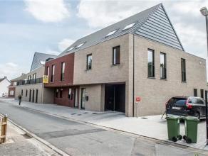Nieuw duplexappartement (ca. 120m² woonopp!), centraal gelegen, met zuid-georiënteerd terras én tuin van 123m², 2 slaapkamers, l