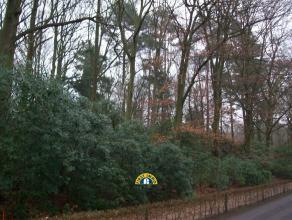 Prachtig gelegen villagrond in rustige, residentiële buurt... Oppervlakte is 6.615m² (!) met een straatbreedte van 40 meter, in unieke bosri