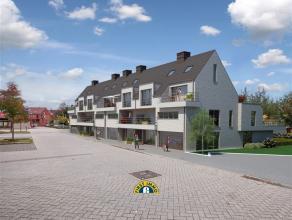 Prachtig nieuwbouw LUXE appartement (ca 105m²) op de 1ste verdieping, ingericht met 2 slaapkamers, ruime woonkamer, open keuken, aparte berging/w
