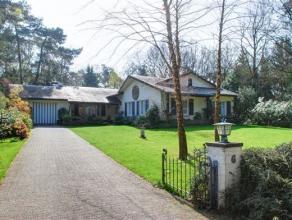 Prachtige charmante villa op een perceel van ca 1.626m², gelegen op een prachtige locatie, zeer rustig, in een doodlopende straat en vlakbij de K