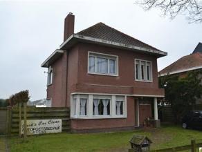 Ruime woning met tuin op een perceel van 840m², gelegen in het centrum van Essen -Wildert, met 3 slaapkamers, ruime tuin, ingerichte keuken en ba