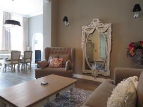Luxueus GEMEUBELD appartement met 2 slaapkamers (ca. 85 m²) op de derde verdieping. Uitstekend gelegen op wandelafstand van het station en de win