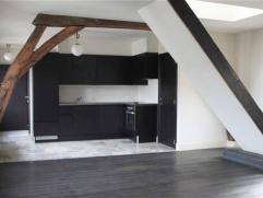 Gerenoveerde duplex met twee slaapkamers en prachtig terras gelegen in het centrum van Mechelen.Indeling: Je betreedt het appartement via de aangename