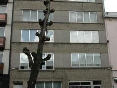Ruim appartement met 2 slaapkamers. INDELING: Inkomhal met linoleum, ingemaakte vestiairekasten, 10 m². Ruime living +/- 35 m² met linoleum