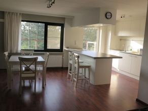 Gemeubeld appartement op de 2de verdieping ingedeeld als volgt: leefruimte, nieuwe open keuken met kookeiland, 1 ruime slaapkamer, badkamer met douche