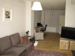 Gelijkvloers appartement met gezellige tuin            Dit gelijkvloers appartement met 2 slpks biedt U verder een gezellige en zonnige tuin met terra