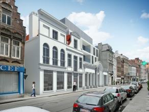 REEDS 40% VERKOCHT: Achter de historische gevel in de Burgstraat zullen op subtiele wijze 6 prachtige appartementen en 1 kantoorruimte worden gerealis