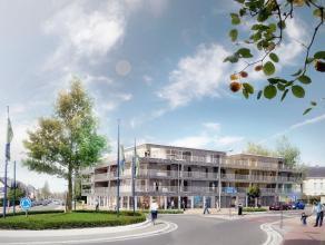 Pal in het centrum van Merelbeke vindt u op de hoek van het kruispunt van de Hundelgemse- en Zwijnaardsesteenweg de nieuwe Residentie Quercus. Het geb
