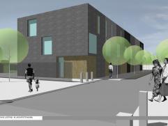 In de Maalderijstraat te Mortsel bevindt zich een project van eengezinswoningen van de hand van de prestigieuze architectengroep Poponcini & Loote