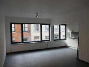 Een één-slaapkamer appartement (60m²) op de eerste verdieping en op 5 min wandelen van het Zimmerplein, met zijn gezellige terrasje