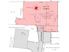 Lot 1A: bouwgrond open bebouwing, zeer gunstig gelegen, rustig maar goede verbinding naar bv Brussel: op 700m v/d N3-Tiensesteenweg (Leuven-Tienen), o