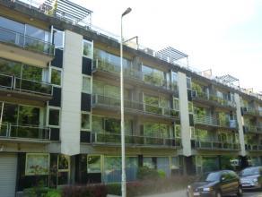 Riant dakappartement met een totale bewoonbare oppervlakte van 110 m² met o.a. twee ruime slaapkamers en voorzien van twee terrassen die samen ee
