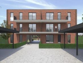 """Dit gelijkvloerse appartement met 1 slaapkamer, terras en tuin is gelegen in de nieuw te bouwen Residentie """"NETEHOF"""".  De residentie vormt een overgan"""