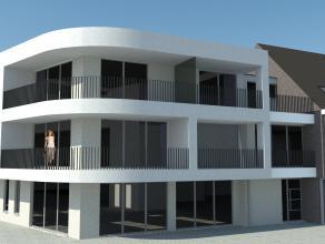 Nieuw te bouwen appartement met 2 slaapkamers, terras, tuin, kelderberging en lift. Ondergrondse garagestaanplaats vanaf € 20 150,-  Afwerking naar