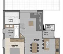 Zeer mooi afgewerkt nieuwbouw duplex appartement gelegen op de tweede verdieping (met lift!), gesitueerd in de dorpskern van Meer. Dit appartement bes