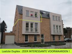 LAATSTE KANS: ZEER INTERESSANTE VOORWAARDEN !!!  Mooi duplex appartement (88m²) met 1 slaapkamer en met dakterras (14,50m²) in het centrum