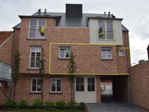 Nieuwbouw appartement met 2 slaapkamers in het centrum van Tielen. <br /> <br /> Het appartement maakt deel uit van een kleinschalig nieuwbouwproject