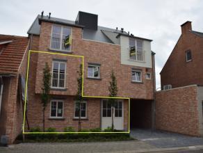 Nieuwbouw duplex met 3 of 4 slaapkamers in het centrum van Tielen, het appartement is ook uitermate geschikt om wonen en werken te combineren, de ruim