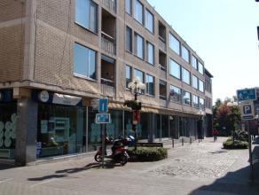Zeer ruim appartement in het centrum van Turnhout. Indeling: inkomhal, recent vernieuwde keuken, grote zonnige woonkamer, klein terras, 2 ruime slaapk