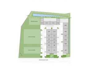 """Projectgronden te koop gelegen naast het nieuwe businesspark"""" Zuiderpark"""" te Genk. In samenspraak met de ontwikkelaar bouwt men hier een gebouw op maa"""