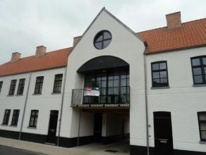Nieuwe stadswoning/appartement met twee slaapkamers in een mooi woonerf in het centrum van Turnhout. Dit appartement  is voorzien van terras en een ru