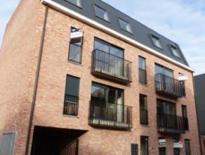 Nieuwbouwappartement in centrum van Turnhout met 1 slaapkamer en 2 fietsenstallingen. Aparte ruimte voor huisvuilcontainers. Appartement is volledig g