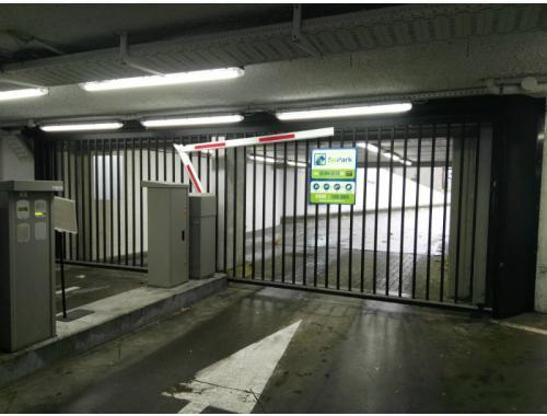 Garage louer etterbeek 59 fpnjl bepark zimmo for Garage professionnel a louer