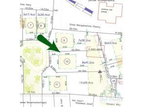 Uistekend gelegen bouwgrond voor open bebouwing (841,2m²) aan het einde van een doodlopende straat in het centrum van Meerhout. Zuid-oriënta