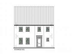 Nieuwbouwwoning te Meerhout-Centrum. Kwalitatieve sleutel-op-de-deur woning - Type Klassiek OB nr 01 - op een perceel van 4a 49ca.  U kiest hierbij