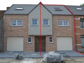 Nieuwe volledig afgewerkte en instapklare woning te Meerhout-Gestel. Gesloten bebouwing op een perceel van 208 m².  Centraal gelegen te Meerho