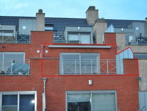 Zeer verzorgd, recent appartement (bj 2008) met 2 slaapkamers, gelegen aan de dorpsrand van Meerhout. 1ste Verdieping - lift in het gebouw. Netto wo