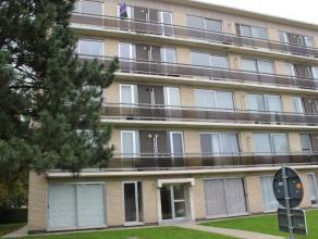 Zeer verzorgd, licht en ruim appartement op de eerste verdieping met lift, 2 ruime slaapkamers, leefkamer met open haard, keuken met aangrenzende wasp