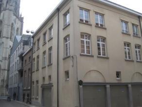 Zeer mooi gelegen en ruim (130 m²) dakappartement met veel lichtinval (hoekpand). Gelegen onder de St. Gummarustoren in het historische centrum v