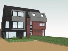 Nieuwbouw dakappartement op de 2de verdieping in modern, kleinschalig gebouw (type half open bebouwing!) met 1 slk, ruim terras en mogelijkheid tot aa