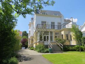 Dans un des quartiers les plus séduisants et charmant d'Uccle, très agréable villa 3 façades 1897 très joliment r&e
