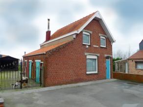 Woning gelegen nabij Wijnendale, met grote oprit en tuin met garage.Deze gezellige woning met tuin en garage, heeft mogelijkheden.Op het gelijkvloers