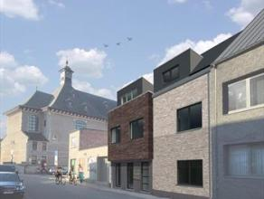 Centraal gelegen, nieuwbouw, GLVL appartement met ruime woonkamer, ingerichte keuken en badkamer,berging, 1 slaapkamer, tuin en gemeenschappelijkefiet