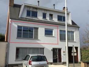 Gezellig appartement op de 1e verdieping, in rustige straat Ingerichte keuken en badkamer, 2 slaapkamers, CV opgas, dubbel glas en terras van 12m&sup2