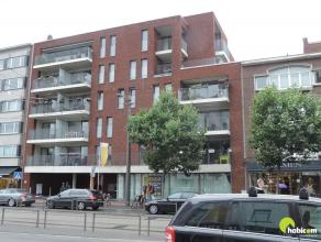 Dit modern, recent één-slaapkamer appartement is gebouwd op de oude terreinen van het Brico-center en bevindt zich aan de achterzijde ge