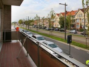 Dit appartement op de 1ste verdieping van een klein gebouw met 3 appartementen is centraal gelegen.  Voor de deur vinden we alle openbaar vervoer.  Oo