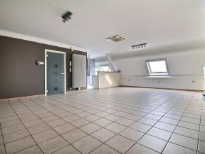 MOUSCRON - appartement volumineux au 3ème étage avec ascenseur comprenant : - Rez : Grande cave et garage avec porte sectionnelle motori