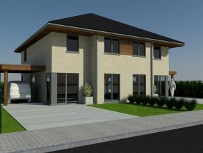 Prachtige halfopen woning op 488 m² in rustige straat te Veldegem. Op enkele minuten van alle winkels. Indeling: Living met open keuken, garage,