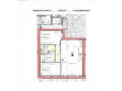 Prachtig nieuwbouwappartement, ca 117,70m², gelegen op de eerste verdieping van Residentie Kapelhof. Deze residentie is gelegen in het centrum va