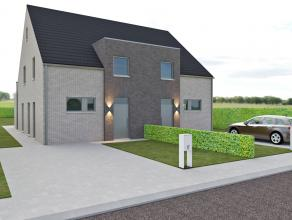 4 woningen (2x2 halfopen woningen) start voorzien : eind 2015 beschikbaar vanaf: 2016