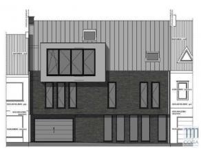 Kleinschalig opbrengsteigendom - nieuwbouw - bestaande uit 3 appartementen met 3 inpandige autostaanplaatsen. Het gebouw zal opgetrokken worden in het
