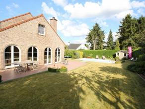 Cette très belle villa dispose d'une surface habitable de 292m² sur un terrain exposé sud de 10ares 27ca aux multiples essences flo